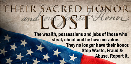 Sacred Honor Lost – 25 Sept 12