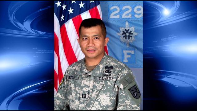 US Army Major Seivirak Inson
