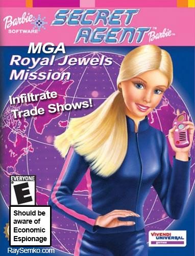Barbie Spy