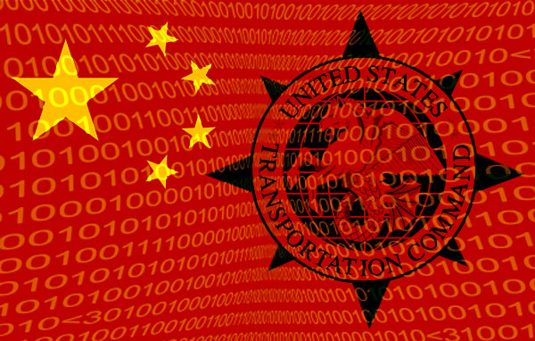 TRANSCOM hacked by Chinese